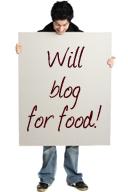 Blogga för mat